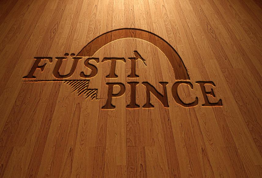 Füsti Pince vésett logó