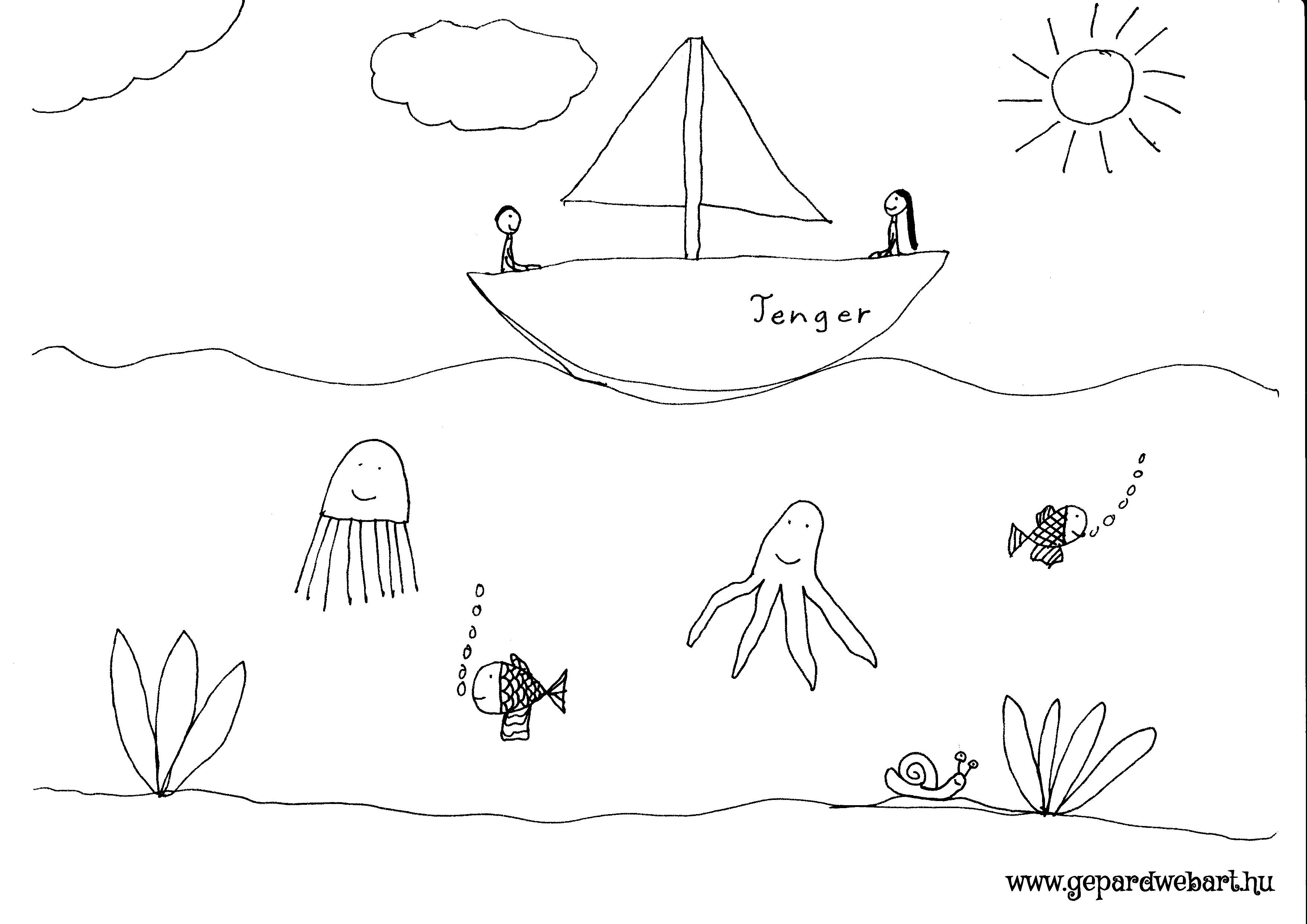 hajózás a tengeren
